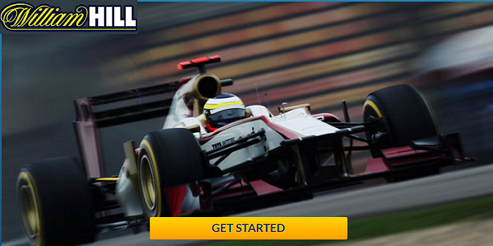 odds for all motor racing sports at William Hill
